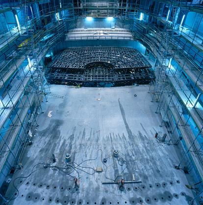 Incomplete「Concert Hall Construction」:スマホ壁紙(13)