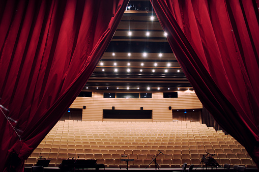 Film Festival「Concert hall with curtain」:スマホ壁紙(4)