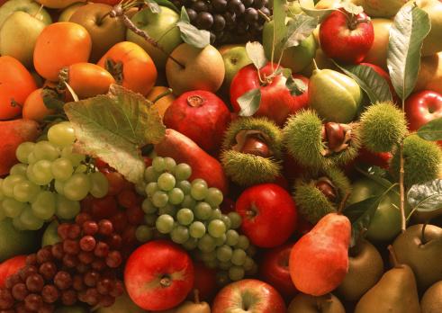 柿「Fruits」:スマホ壁紙(19)