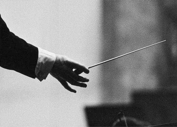 Conductor'S Hand With Baton. About 1960. Photograph By Franz Hubmann.:ニュース(壁紙.com)