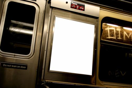 Passenger Train「Advertise here billboard in white on subway」:スマホ壁紙(15)