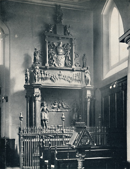 Church「Charterhouse. Thomas Suttons Monument In The Chapel, 1」:写真・画像(16)[壁紙.com]
