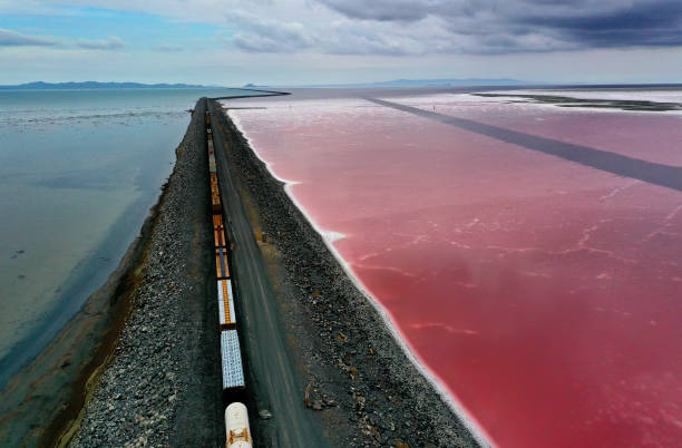Drought Pushes Great Salt Lake To Lowest Levels On Record:ニュース(壁紙.com)
