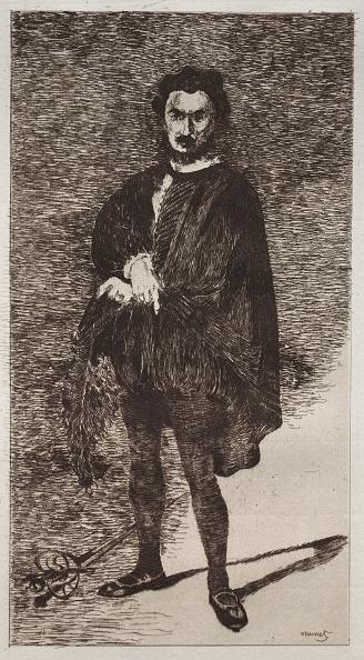 Etching「Lacteur Tragique. Creator: Edouard Manet (French」:写真・画像(9)[壁紙.com]