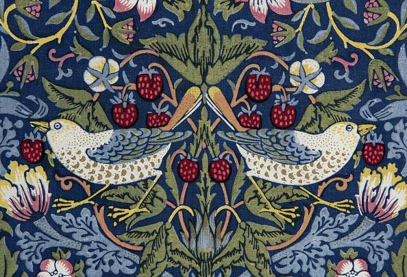 Art Nouveau「Decorative Fabric」:写真・画像(3)[壁紙.com]