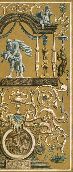 Ornate「Decorative Painting In The Louvre」:写真・画像(2)[壁紙.com]