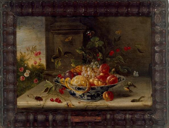 静物「Decorative Still-Life Composition With A Porcelain Bowl」:写真・画像(13)[壁紙.com]