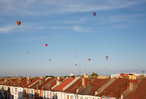 Annual Event「Mass ascent of hot air balloons over rooftops」:スマホ壁紙(0)