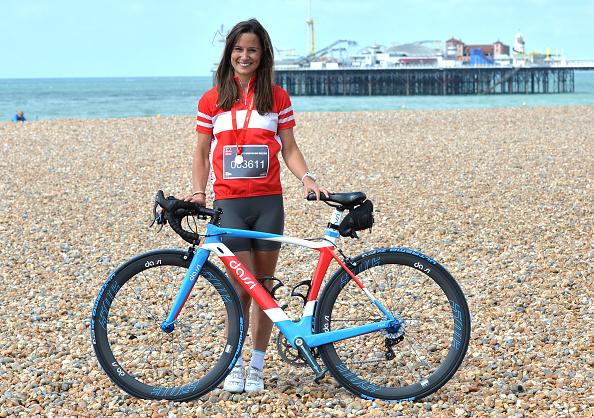 Pippa Middleton「Pippa Middleton Finishes London To Brighton Bike Ride For British Heart Foundation」:写真・画像(14)[壁紙.com]
