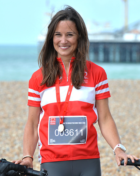 Pippa Middleton「Pippa Middleton Finishes London To Brighton Bike Ride For British Heart Foundation」:写真・画像(7)[壁紙.com]