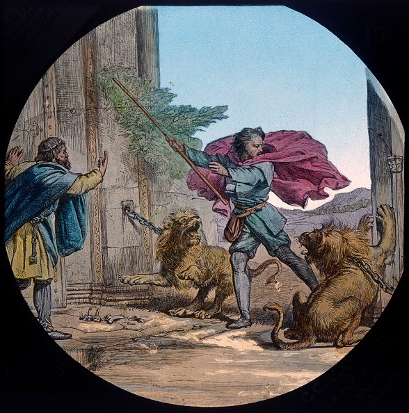 Preacher「Christian Encounters Two Lions」:写真・画像(19)[壁紙.com]