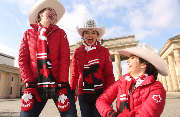 Adam Berry「Calgary Stampede Royalty Attend ITB Travel Trade Show」:写真・画像(8)[壁紙.com]