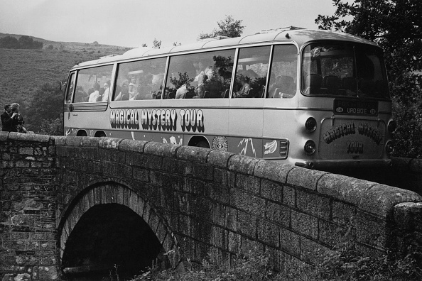 Filming「Magical Mystery Tour」:写真・画像(13)[壁紙.com]