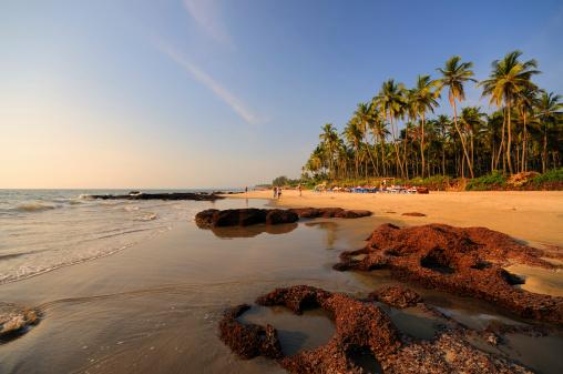アラビア海「Morjim ビーチ、ゴア、インド」:スマホ壁紙(0)