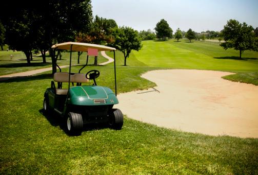 Sand Trap「golf cart series」:スマホ壁紙(1)