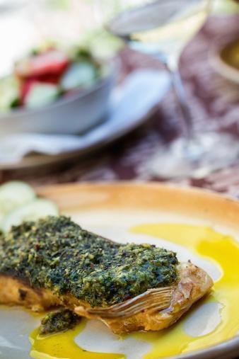 Carp「Fish fillet with herb sauce」:スマホ壁紙(4)