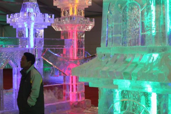 Ice Sculpture「Ice Art - Exhibition Opening」:写真・画像(5)[壁紙.com]