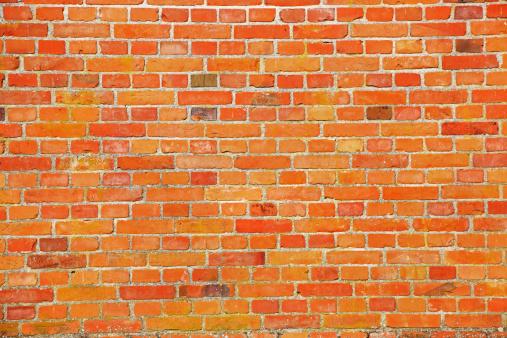 Brick Wall「Full frame image of brick wall」:スマホ壁紙(7)
