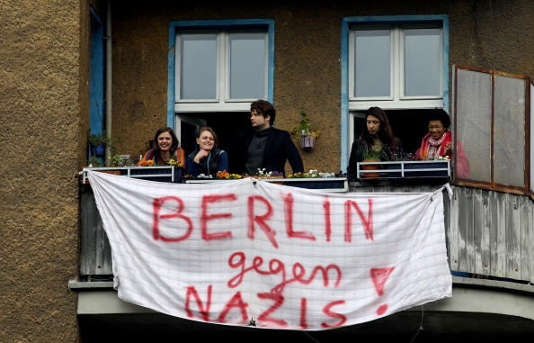 Architectural Feature「Berlin May Day Demonstrations」:写真・画像(9)[壁紙.com]