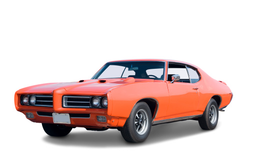 Collector's Car「Pontiac GTO 1969」:スマホ壁紙(5)