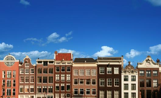 Amsterdam「Typical Dutch Houses in Amsterdam」:スマホ壁紙(18)