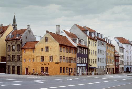 Denmark「Denmark, Copenhagen, street scene(Digital Enhancement)」:スマホ壁紙(17)