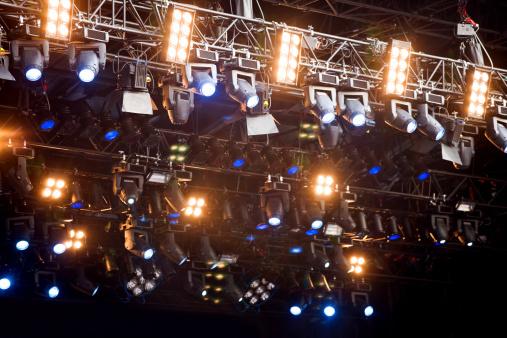 Rock Music「Stage Lights」:スマホ壁紙(5)