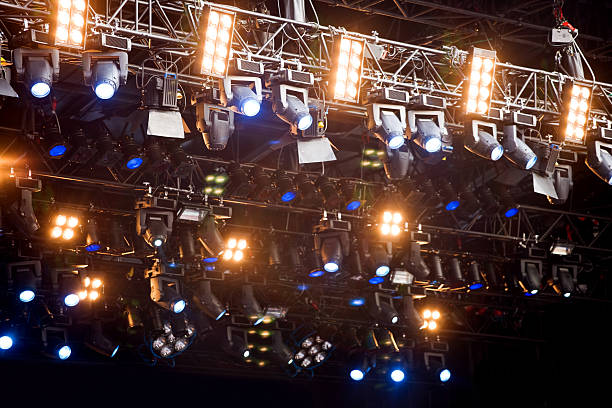 Stage Lights:スマホ壁紙(壁紙.com)