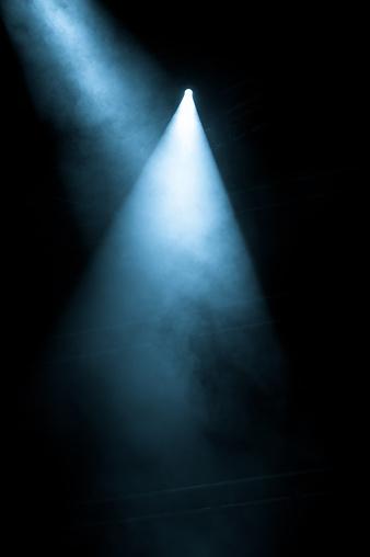 Spotlight「Stage Lights shining from a black background」:スマホ壁紙(4)