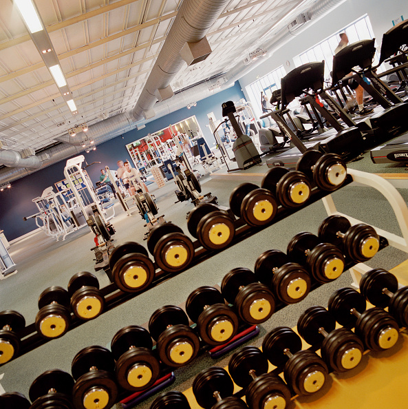 Weights「Completed refurbishment, Cannons Health club, London」:写真・画像(2)[壁紙.com]