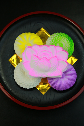 Wagashi「Rakugan (Dry confection of starch and sugar)」:スマホ壁紙(3)