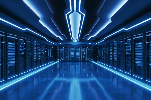 Data Center「Futuristic Data Center」:スマホ壁紙(3)