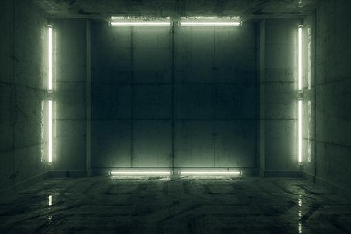 Spooky「Futuristic prison cell」:スマホ壁紙(12)