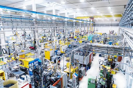 ������「Futuristic automated factory & modern robotic machines」:スマホ壁紙(13)