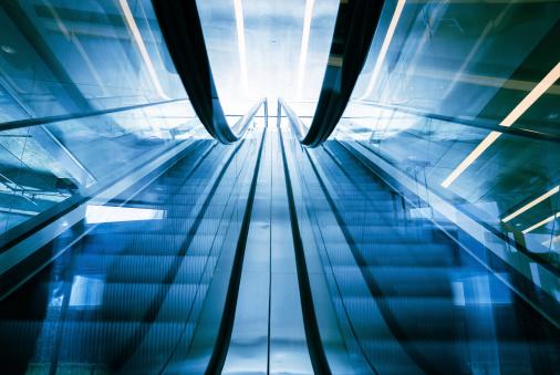 Escalator「未来的なエレベーター」:スマホ壁紙(15)