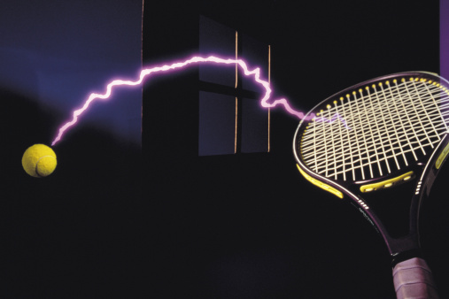 テニス「futuristic tennis shot」:スマホ壁紙(19)