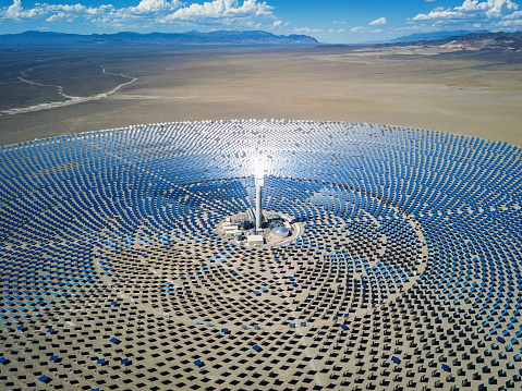 Solar Mirror「Futuristic Solar Thermal Power Station」:スマホ壁紙(9)