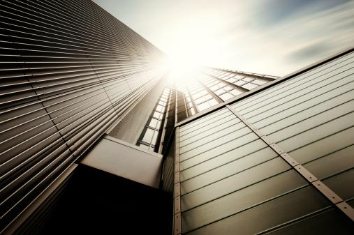 フランクフルト・アム・マイン「未来的なオフィスビル」:スマホ壁紙(17)