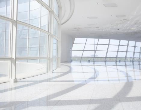 建築「未来的なオフィスビル」:スマホ壁紙(14)