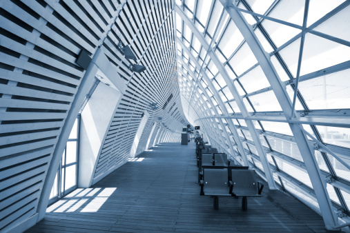 Bench「Futuristic Transportation Building」:スマホ壁紙(17)