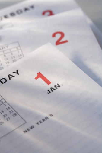 お正月「Calendar pages」:スマホ壁紙(10)
