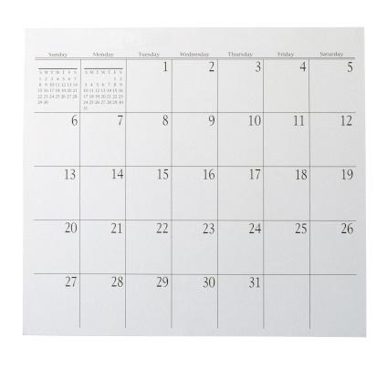 Month「Calendar page」:スマホ壁紙(17)