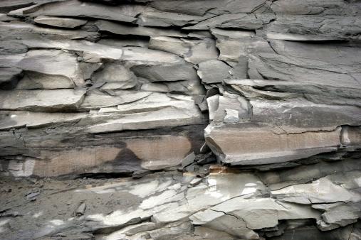 地質構造「抽象的なロック」:スマホ壁紙(12)