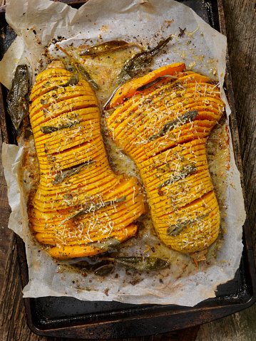 Scalloped - Pattern「Hasselback Butternut Squash with Brown Butter, Sage and Parmesan」:スマホ壁紙(13)