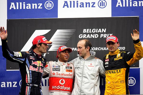 Paul-Henri Cahier「Lewis Hamilton, Mark Webber, Robert Kubica, Grand Prix Of Belgium」:写真・画像(19)[壁紙.com]