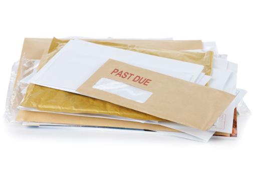 Letter - Document「Past due letter」:スマホ壁紙(14)