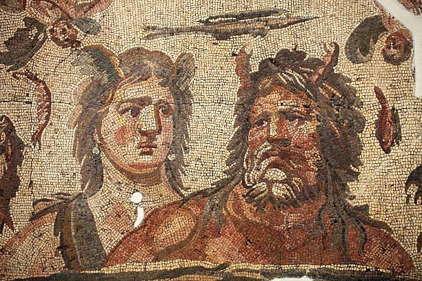 Ancient mosaics in Antakya (Hatay), Turkey:スマホ壁紙(壁紙.com)