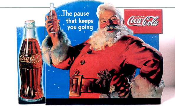 Christmas「Publicity of Christmas for Coca cola, publishing in 1934 and realised by Haddon Sundblom who works for Coca in 1931 to 1960」:写真・画像(2)[壁紙.com]
