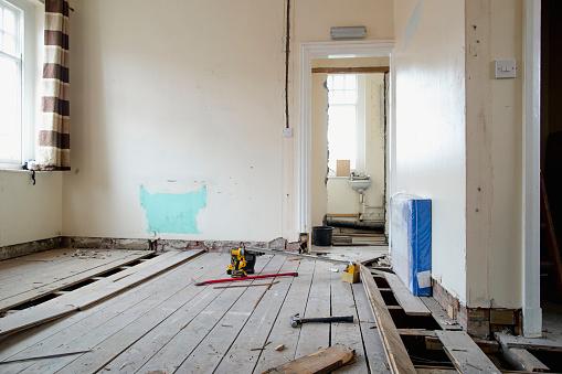 Restoring「Room Under Renovations」:スマホ壁紙(8)