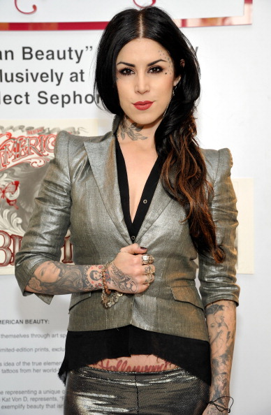 """Gray Jacket「Sephora Presents Kat Von D's First Solo Art Show """"New American Beauty"""" At Sephora Hollywood」:写真・画像(6)[壁紙.com]"""